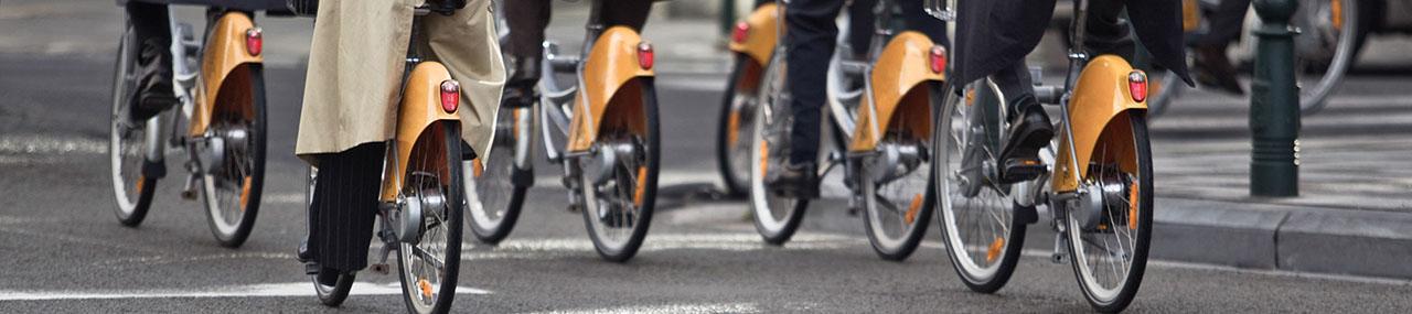 Le vélo, nouveau mode de déplacement professionnel