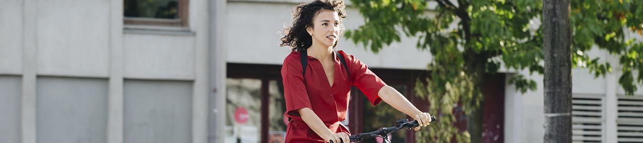 Goed verzekerd op de fiets